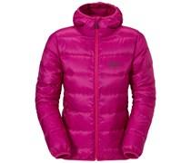 Jack Wolfskin: Damen Daunenjacke mit Kapuze Icefjord Jacket Women, pink