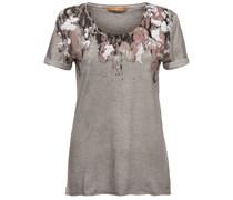 BOSS Orange: Damen T-Shirt Taliasi, grau