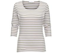 BOSS: Damen Langarm Shirt, sand