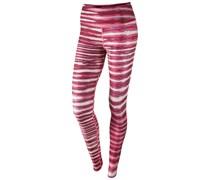 Nike Damen Fitnesstight Legend 2.0 Tiger Tight Pant, pink