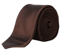 s.Oliver Premium: Herren Krawatte, braun