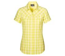 Jack Wolfskin: Damen Wanderbluse / Outdoor-Bluse Mara Shirt Women, gelb