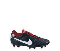 Nike Herren Fußballschuh Rasen Tiempo Natural IV LTR FG, schwarz