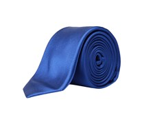 s.Oliver Premium: Herren Krawatte, royalblau