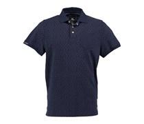 New Zealand Auckland: Herren Polo Shirt, marine