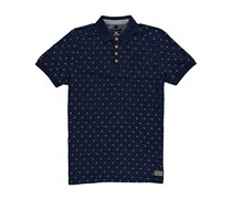 New Zealand Auckland: Herren Polo-Shirt Kurzarm, marine