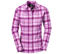 Jack Wolfskin: Damen Wanderbluse / Outdoor-Bluse Bandon Shirt Women, pink