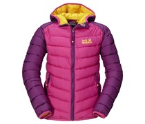 Jack Wolfskin: Girls Steppjacke / Thermojacke Zenon Jacket, pink