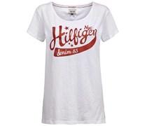 Hilfiger Denim: Damen T-Shirt Lucy, weiss