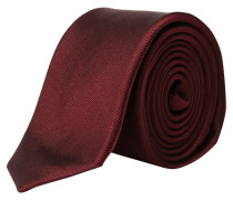 s.Oliver Premium: Herren Krawatte, burgund