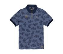 New Zealand Auckland: Herren Polo-Shirt, blau