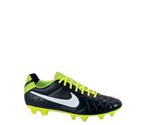 Nike Herren Fußballschuh Rasen Tiempo Legend IV FG, schwarz / weiss