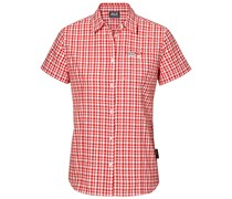 Jack Wolfskin: Damen Bluse Flaming Vent Shirt, rot