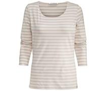 BOSS: Damen Shirt Dreiviertelarm E4513, schwarz