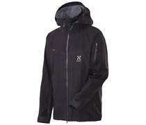 Haglöfs: Herren Softshelljacke Couloir IV Jacket, schwarz