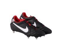 Nike Herren Fußballschuh Rasen Tiempo Natural IV LTR SG, schwarz