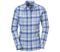 Jack Wolfskin: Damen Wanderbluse / Outdoor-Bluse Bandon Shirt Women, grau