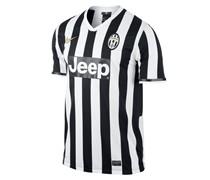 Nike Herren Fußball Replica Hometrikot Juventus Turin 2013/2014, weiss / schwarz