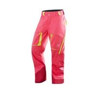 Haglöfs: Damen Skihose / Freeski Hose Vassi II Q Pant, pink
