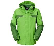 Jack Wolfskin: Jungen Outdoorjacke Topaz Jacket, grün