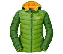 Jack Wolfskin: Girls Steppjacke / Thermojacke Zenon Jacket, grün
