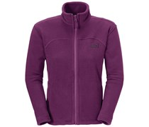 Jack Wolfskin: Damen Fleecejacke Feelgood Jacket Women, lila