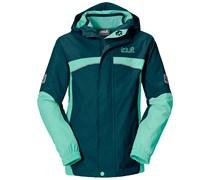 Jack Wolfskin: Mädchen Outdoorjacke Topaz Jacket, grün