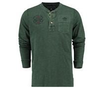 New Zealand Auckland: Herren Shirt Langarm, oliv