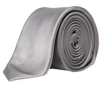 s.Oliver Premium: Herren Krawatte, silber