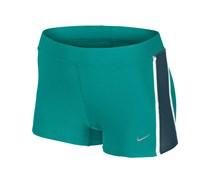 Nike Damen Kurz-Tight Tempo Boy Short - grün, grün