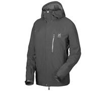 Haglöfs: Herren Bergsportjacke / Trekkingjacke Helio Jacket Men, schwarz