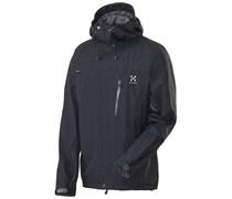 Haglöfs: Herren Bergsportjacke / Trekkingjacke Astral II Jacket, schwarz