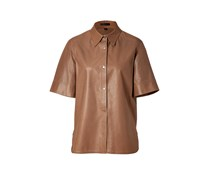 Mocha Leather Glastonbury Shirt
