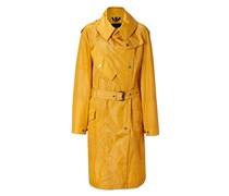 Marigold Nylon Portland Coat