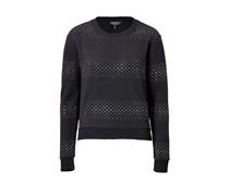 Nieten-Sweatshirt