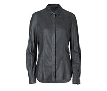 Graphite Ramsgate Engineered Leather Shirt