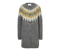 Long-Cardigan aus Mohair
