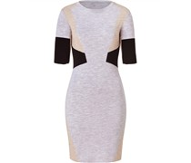 Pale Stone Heather Multi Wool Hart Dress