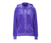 Juicy Couture Lounge-Hoodie J Bling aus Nicki - purple