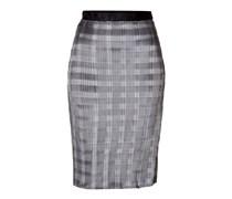 Alexander Wang Plissierter Pencil-Skirt - grey
