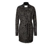Cardigan-Coat aus Mohair mit Metallic-Finish