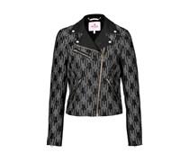 Juicy Couture Bestickte Biker-Jacke - black