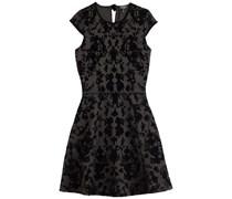 Juicy Couture Beflocktes Scuba-Dress Cupid - black