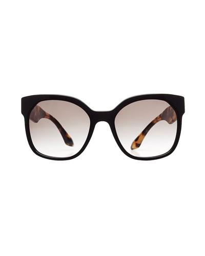 prada damen prada sonnenbrille pr10rs braun 30 reduziert. Black Bedroom Furniture Sets. Home Design Ideas