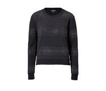 Juicy Couture Nieten-Sweatshirt - black