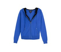 Juicy Couture Hoodie aus Kaschmir - blue