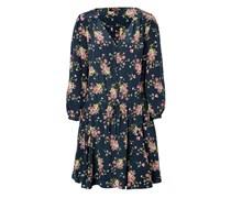 Juicy Couture Seiden-Dress mit Blumen-Print - florals