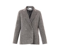 Padded wool jacket