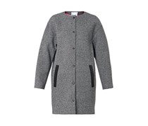 Textured bonded-neoprene coat