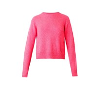 Crew-neck ribbed-knit sweater